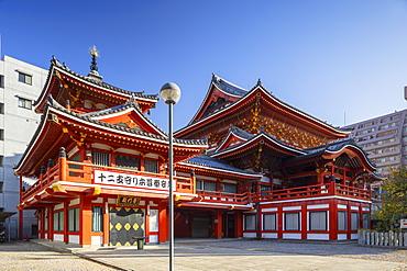 Osu Kannon temple, Nagoya, Honshu, Japan, Asia
