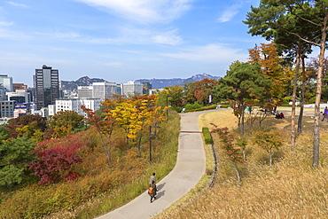 Namsan Baekbeom Park, Seoul, South Korea, Asia