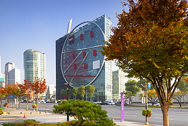 The Tangent (Hyundai Development Corporation HQ), Gangnam-gu, Seoul, South Korea, Asia