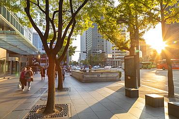 Street scene, Seoul, South Korea, Asia