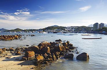Sai Kung harbour, New Territories, Hong Kong, China, Asia