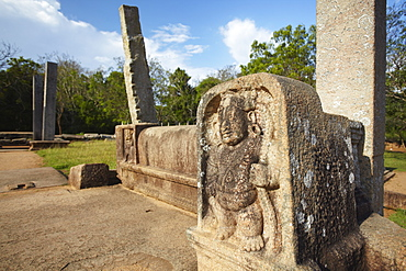 Mahasen's Palace, Northern Ruins, Anuradhapura, UNESCO World Heritage Site, North Central Province, Sri Lanka, Asia
