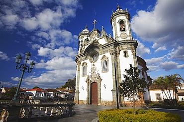 Sao Francisco de Assis (St. Francis of Assisi) Church, Sao Joao del Rei, Minas Gerais, Brazil, South America