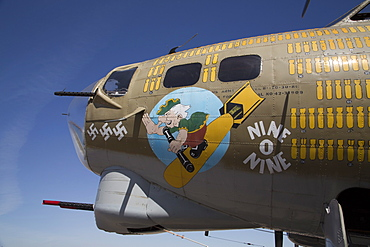 Marana Regional Airport, Wings of Freedom Tour, airshow, Boeing B-17G Flying Fortress, introduced in 1938, Marana, Arizona, United States of America, North America