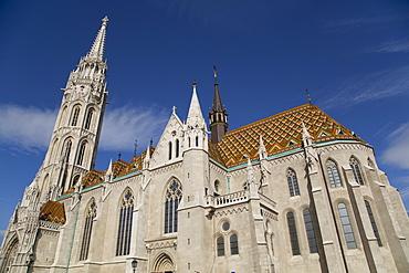 Matthias Church (Matyas Templom), dating from 1470, Budapest, Hungary, Europe