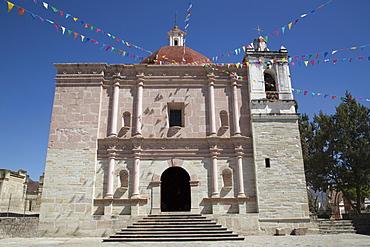Church of San Pablo, Mitla Archaeological Site, San Pablo de Mitla, Oaxaca, Mexico, North America
