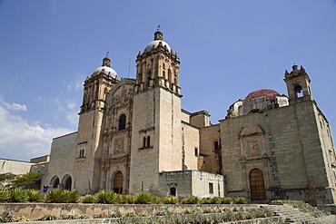 Santo Domingo de Guzman Church, began in 1570, Oaxaca City, Oaxaca, Mexico, North America
