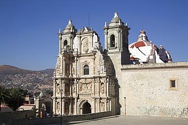 The Basilica Menor de la Soledad, completed in the late 1600s, Oaxaca City, Oaxaca, Mexico, North America