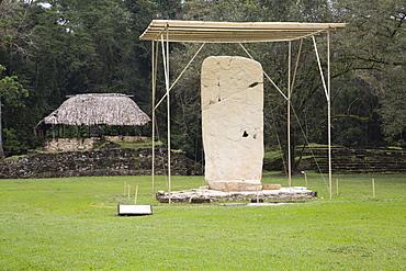 Stela I, Mayan Archaeological Site, Bonampak, Chiapas, Mexico, North America
