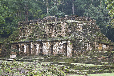 Mexico, Chiapas, Yaxchilan, Mayan Archaeological Site, Structure 19