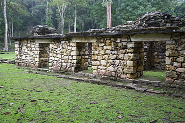 Structure 16, Mayan Archaeological Site, Yaxchilan, Chiapas, Mexico, North America
