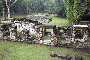 Structure 12, Mayan Archaeological Site, Yaxchilan, Chiapas, Mexico, North America