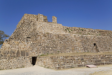 Building L, Monte Alban, UNESCO World Heritage Site, Oaxaca, Mexico, North America