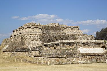 Building Group IV, Ceremonial Complex, Monte Alban, UNESCO World Heritage Site, Oaxaca, Mexico, North America