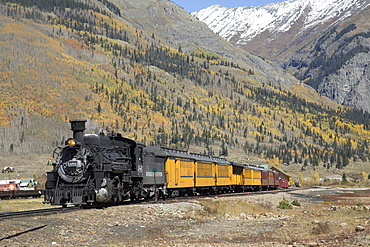 Durango and Silverton Narrow Gauge Railroad, Silverton, Colorado, United States of America, North America