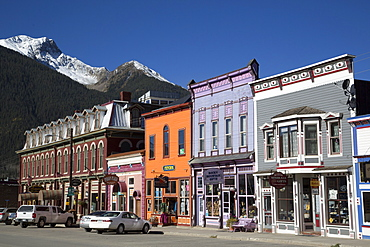 Buildings along Main Street, Silverton, Colorado, United States of America, North America