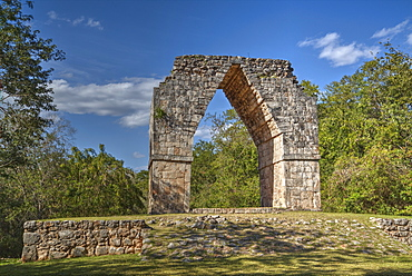 The Arch, Kabah Archaeological Site, Yucatan, Mexico, North America