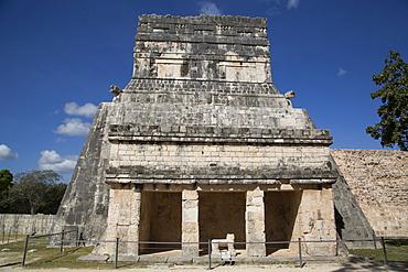 Temple of the Jaguars and Shields, Chichen Itza, UNESCO World Heritage Site, Yucatan, Mexico, North America