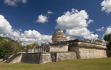 El Caracol (the Snail) (Observatory), Chichen Itza, UNESCO World Heritage Site, Yucatan, Mexico, North America