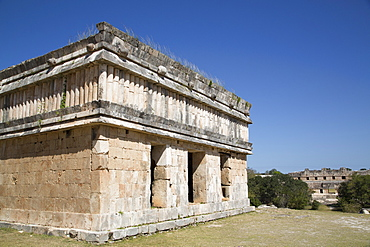 House of the Turtles, Uxmal, Mayan archaeological site, UNESCO World Heritage Site, Yucatan, Mexico, North America