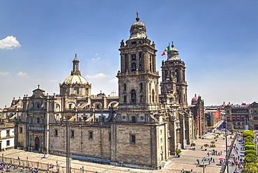 Metropolitan Cathedral, Mexico City, Mexico D.F., Mexico, North America