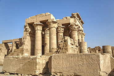 Temple of Haroeris and Sobek, Kom Ombo, Egypt, North Africa, Africa