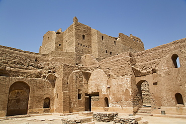 Monastery of St. Simeon, founded in the 7th century, Aswan, Egypt, North Africa, Africa