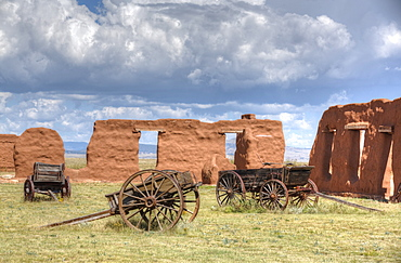 Fort Union National Monument, 1851-1891, New Mexico, United States of America, North America