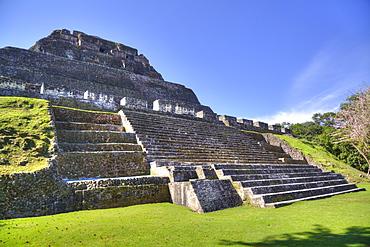 Castillo, Xunantunich Mayan Ruins, near San Ignacio, Belize, Central America