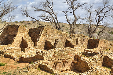 West Ruin, Aztec Ruins National Monument, dating from between 850 AD and 1100 AD, UNESCO World Heritage Site, New Mexico, United States of America, North America