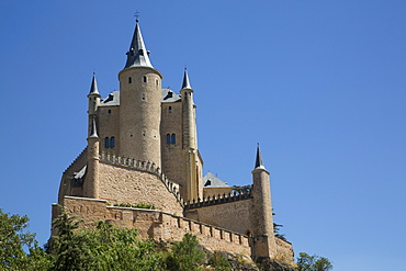Alcazar, Segovia, UNESCO World Heritage Site, Castile y Leon, Spain, Europe