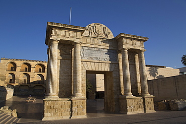 Roman Triumphal Arch, Cordoba, Andalucia, Spain, Europe