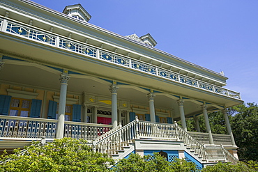 San Francisco Plantation, built in 1856, near Lutcher, Louisiana, United States of America, North America