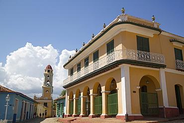 Palacio Brunet (Romantic Museum), Trinidad, UNESCO World Heritage Site, Sancti Spiritus, Cuba, West Indies, Central America