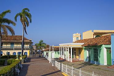 Plaza Mayor, Trinidad, UNESCO World Heritage Site, Sancti Spiritus, Cuba, West Indies, Central America