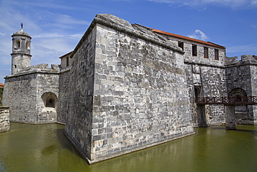 Castillo de la Real Fuerza, La Habana Vieja, UNESCO World Heritage Site, Havana, Cuba, West Indies, Central America