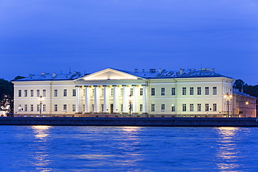 Zoological Museum, evening, UNESCO World Heritage Site, St. Petersburg, Russia, Europe