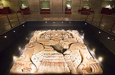 The Tlaltecuhtli Sculpture, Templo Mayor Museum, Mexico City, Mexico, North America