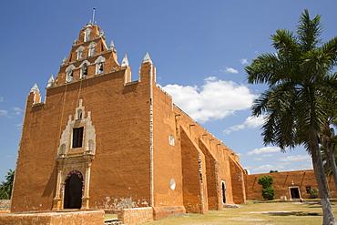 Church of the Virgen de la Asuncion, formerly a convent, 1612, Mama, Route of the Convents, Yucatan, Mexico, North America