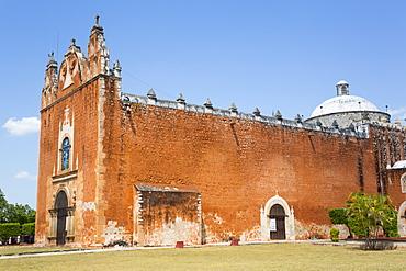 Church of San Antonio de Padua (former Convent), 1553, Ticul, Route of the Convents, Yucatan, Mexico, North America