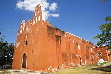 Church of the Virgen de la Asuncion, 16th century, Muna, Yucatan, Mexico, North America