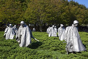 Korean War Veterans Memorial, Washington D.C., United States of America, North America