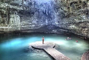 Suytun Cenote, Yucatan, Mexico, North America