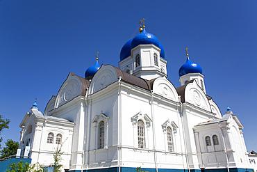 Our Lady of Bogolyubovo Cathedral, Svyato-Bogolyubsky Monastery, North of Vladimir, Russia, Europe