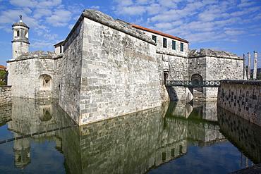 Castillo de la Real Fuerza, Old Town, UNESCO World Heritage Site, Havana, Cuba, West Indies, Caribbean, Central America