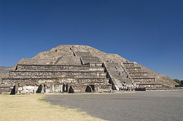 Pyramid of the Moon, Archaeological Zone of Teotihuacan, UNESCO World Heritage Site, Mexico, North America