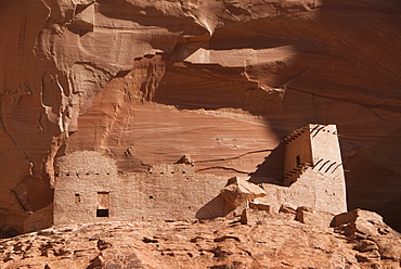 Canyon de Chelly National Monument, Mummy Cave Ruins, Arizona, United States of America, North America