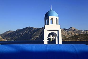 Church by the sea, Kalymnos, Dodecanese, Greek Islands, Greece, Europe