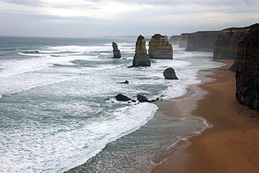 The Twelve Apostles on the Great Ocean Road, Victoria, Australia, Pacific