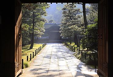 Inner sanctum of the Sankeien Garden, Yokohama, Tokyo, Japan, Asia